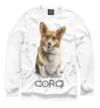 Женский Свитшот Corgi Dog