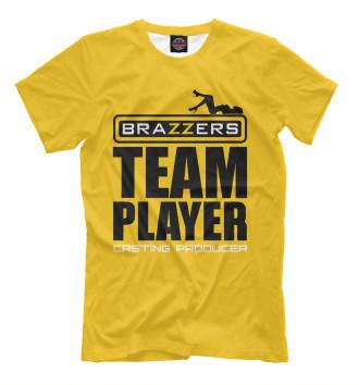 Футболка для мальчиков Brazzers Team player