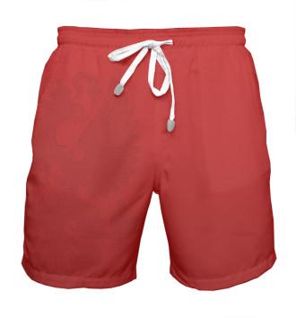 Мужская Шорты мужские Красные шорты