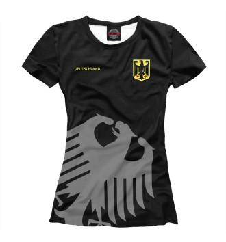 Женская Футболка Сборная Германии