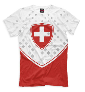 Мужская Футболка Сборная Швейцарии