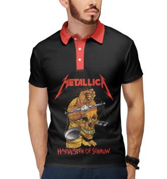 Мужское Поло Metallica