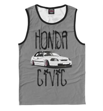 Мужская Майка Honda Civic