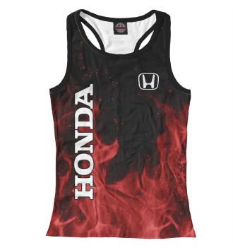 Женская Борцовка Honda red fire