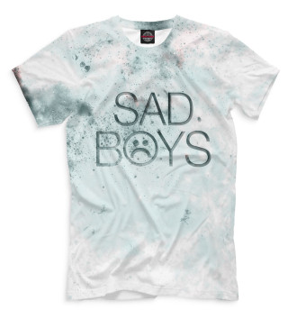 Мужская Футболка Sad Boys
