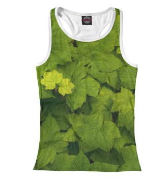 Женская Борцовка Зелёные листья