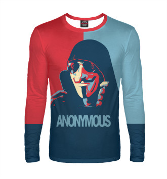 Мужской Лонгслив Anonymous