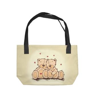 Пляжная сумка Мишки