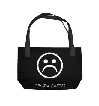 Пляжная сумка Crystal Castles