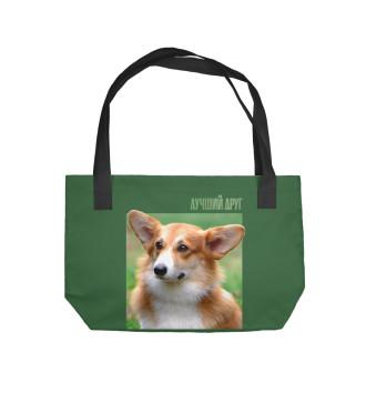 Пляжная сумка Пемброк-вельш-корги