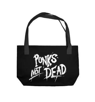 Пляжная сумка The Exploited Punk's Not Dead