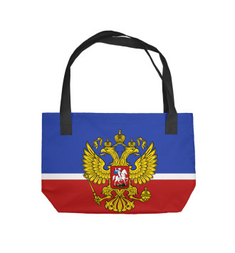 Пляжная сумка Хоккеист Александр