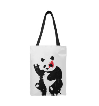 Сумка-шоппер Рок-Панда