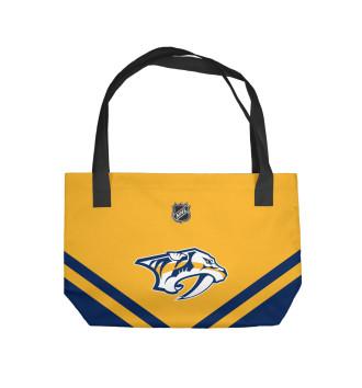 Пляжная сумка Nashville Predators