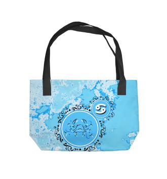 Пляжная сумка Рак