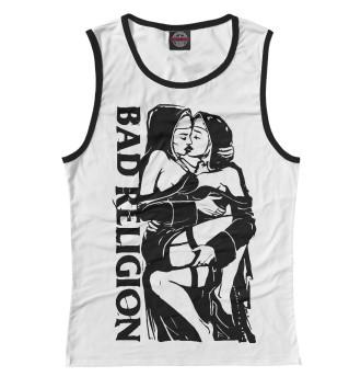 Женская Майка Bad Religion (WHITE)