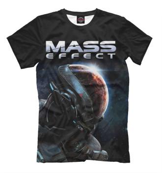 Мужская Футболка Mass Effect
