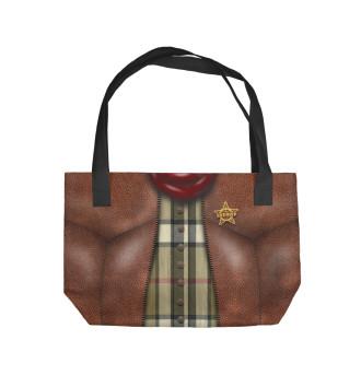 Пляжная сумка Ковбой