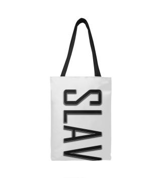 Сумка-шоппер Slava-carbon