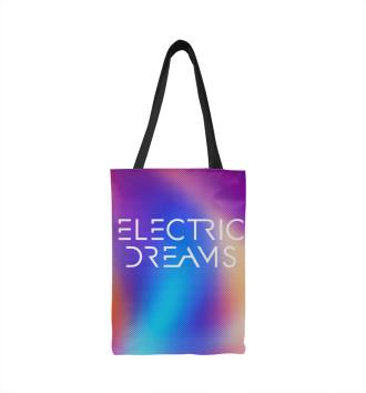 Сумка-шоппер Электрические сны