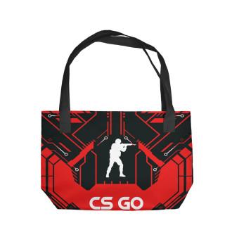 Пляжная сумка Фёдор в стиле CS GO