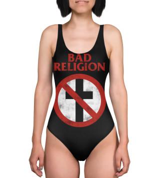 Женский Купальник-боди Bad Religion