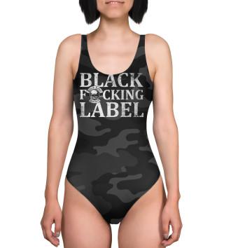 Женский Купальник-боди Black Label society