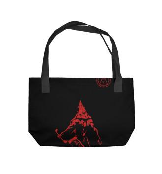 Пляжная сумка Пирамидоголовый