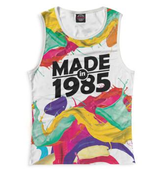 Женская Майка Made in 1985