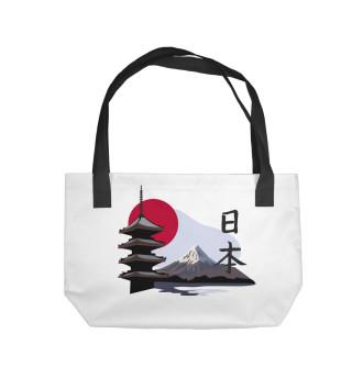 Пляжная сумка Фудзи