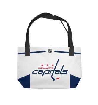 Пляжная сумка Washington Capitals Форма Гостевая 2018