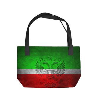 Пляжная сумка Чеченская Республика