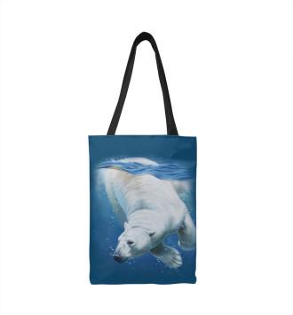 Сумка-шоппер Белый медведь