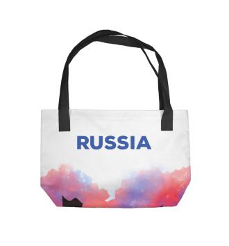 Пляжная сумка Футбол Россия