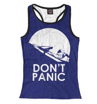 Женская Борцовка Don't Panic
