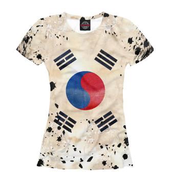 Женская Футболка Корея