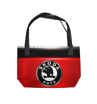 Пляжная сумка SKODA