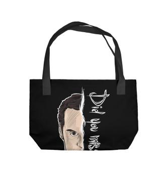 Пляжная сумка Did you miss me?