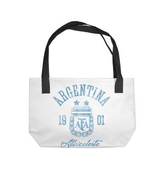 Пляжная сумка Аргентина