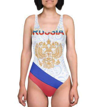 Женский Купальник-боди Сборная России