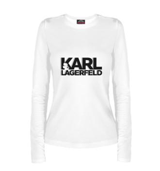 Женский Лонгслив Karl Lagerfeld