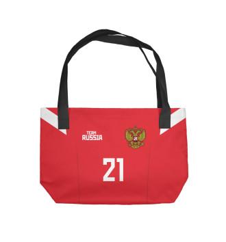 Пляжная сумка Сборная России Ерохин