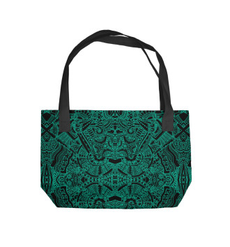 Пляжная сумка Ацтекские формы