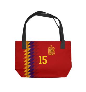 Пляжная сумка Серхио Рамос - Сборная Испании
