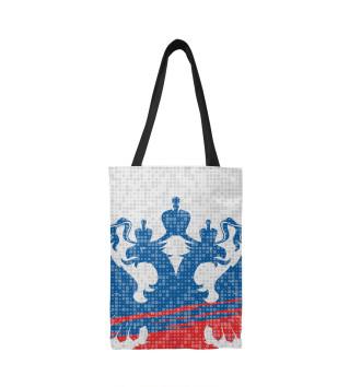 Сумка-шоппер Форма сборной России с гербом