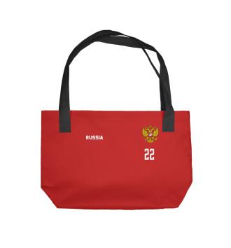 Пляжная сумка Россия Дзюба