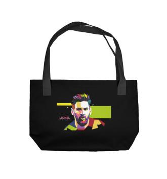 Пляжная сумка Messi
