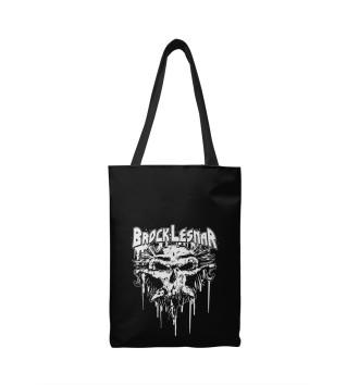 Сумка-шоппер Брок Леснар Carnage Skull
