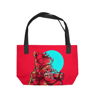 Пляжная сумка Hotline Miami