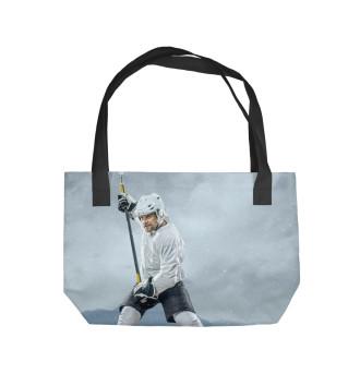 Пляжная сумка Хоккеист
